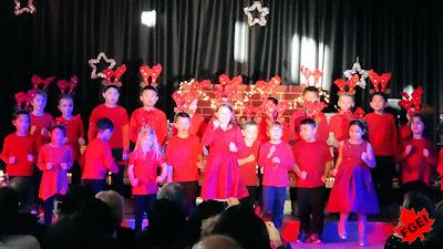 カナダの小学校 クリスマスコンサート 13