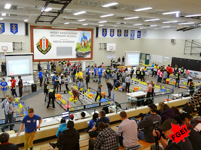 カナダの高校生 ロボット競技大会 001