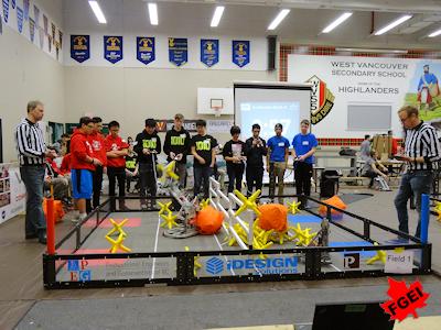 カナダの高校生 ロボット競技大会 005