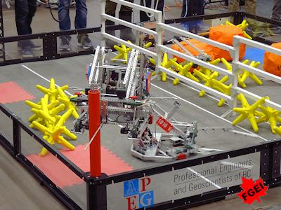 カナダの高校生 ロボット競技大会 006