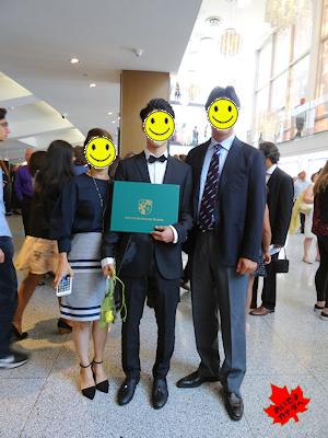 カナダの高校 卒業式 NV 09