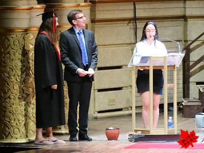 カナダの高校卒業式 04