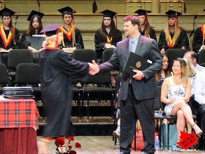 カナダの高校卒業式 06
