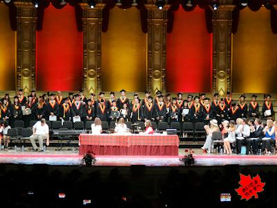 カナダの高校卒業式 07