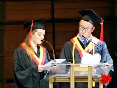 カナダの高校卒業式 09