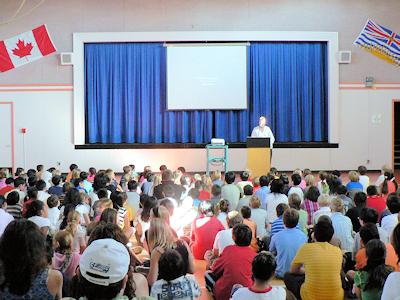 カナダの小学校