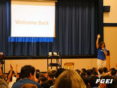 カナダの小学校 新学期始まる 01