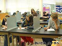 カナダの高校 テストの日