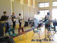 カナダの高校 ミュージッククラス
