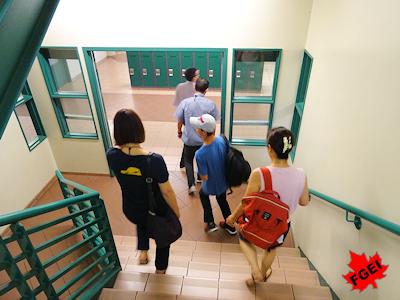 カナダの高校見学ツアー 01