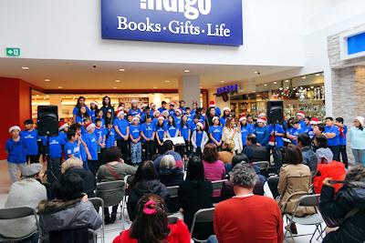 カナダの小学生 クリスマスコンサート