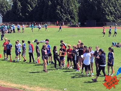 陸上競技 カナダの小学校 03