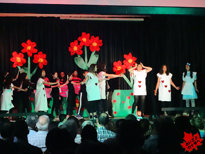 カナダの小学校 ミュージカル 05