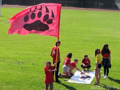 グループ対抗ゲーム 応援旗