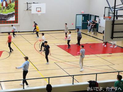 学校見学 体育館