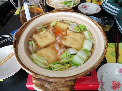 留学生と食事会 ちゃんこ鍋