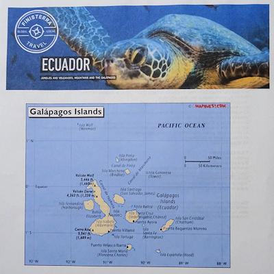 ガラパゴス 地図