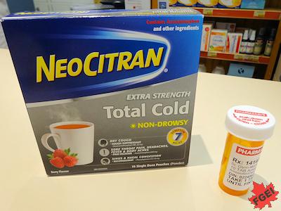 カナダの風邪薬と抗生物質