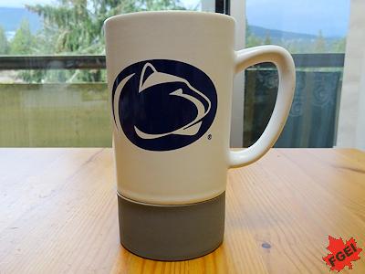ペンシルバニア州立大学のコーヒーマグ