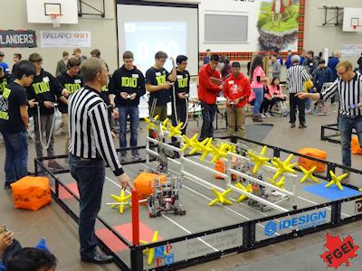 カナダの高校 ロボット工学の大会