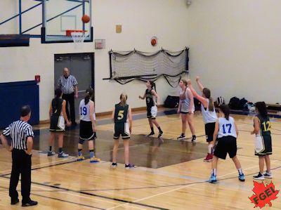 カナダの高校 女子バスケットボール