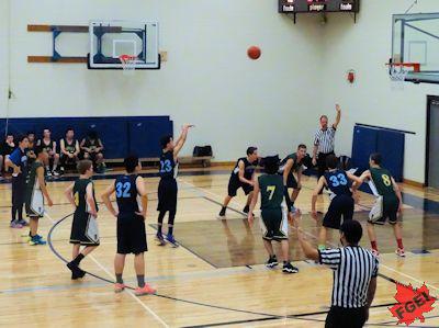 カナダの高校 男子バスケットボール