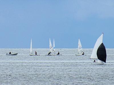 ヨットの訓練