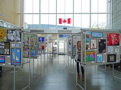 カナダの生徒たちの美術作品 01