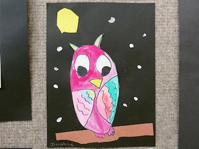 カナダの生徒たちの美術作品 04