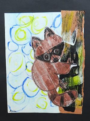 カナダの生徒たちの美術作品 06