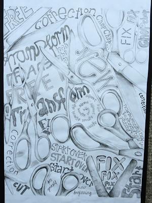 カナダの生徒たちの美術作品 07