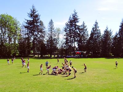 カナダの高校ラグビー 01