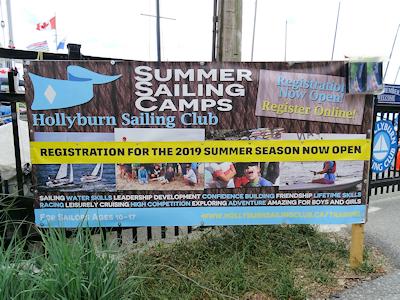 セーリングクラブ主催のサマーキャンプ