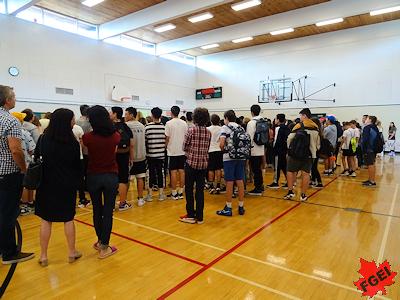 新学期始まる カナダセカンダリースクール