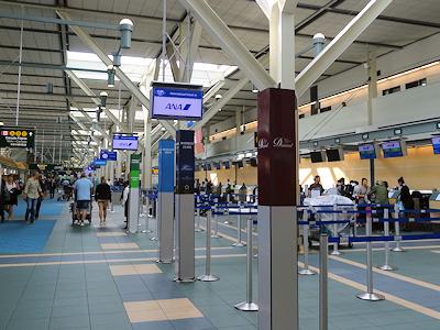 バンクーバー国際空港 ANAカウンター
