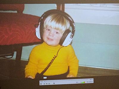 MM先生の子供のときの写真
