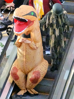 ハロウィーン コスチューム 恐竜