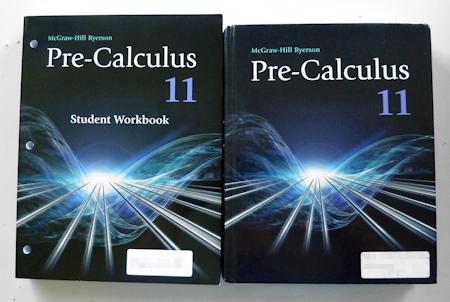数学11年生 教科書 カナダの高校