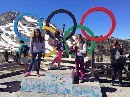ウィスラーサマーキャンプ オリンピック