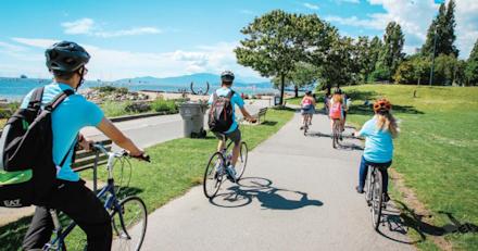 親子サマーキャンプ サイクリング