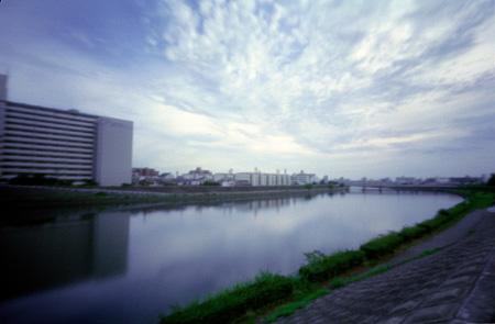 神崎川7月