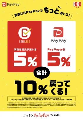 PayPay10%還元