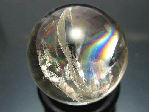レインボー水晶(透明)