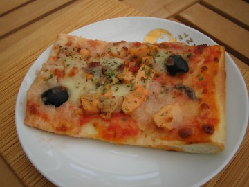 キッキリキのピザ