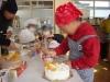 チビのケーキ作り