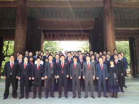 h250428:靖国神社昇殿参拝