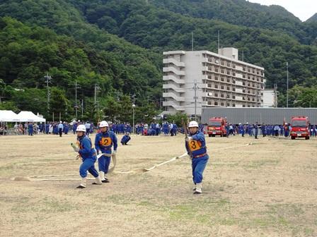 h260706:舞鶴市消防操法大会004