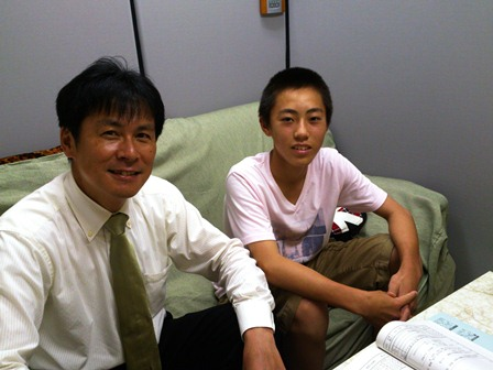 h260815:中学生来訪