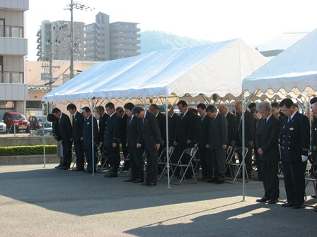 h261026:舞鶴消防顕彰祭001