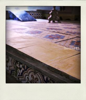 モロッコの石膏タイルhouse13